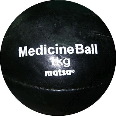 Мяч медицинский (медбол) Matsa 1 кг
