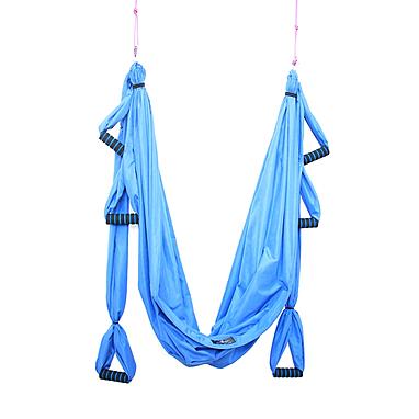 Гамак для йоги ZLT Yoga swing FI-4439 голубой