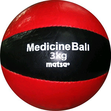 Мяч медицинский (медбол) Matsa 3 кг