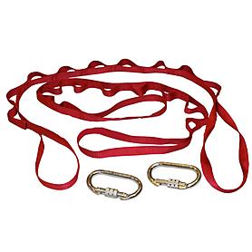 Фото 2 к товару Гамак для йоги ZLT Yoga swing FI-4440 красный