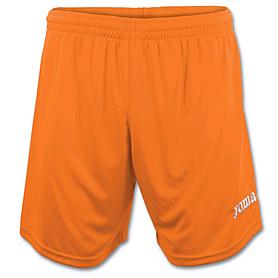 Шорты футбольные Real оранжевые