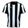 Футболка футбольная Joma Pisa 10 бело-черная - фото 1