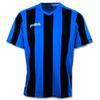 Футболка футбольная Joma Pisa 10 сине-черная - фото 1