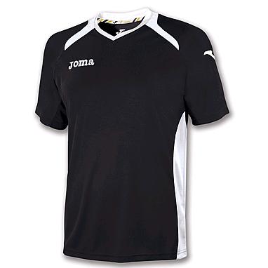 Футболка футбольная Joma Champion II черная