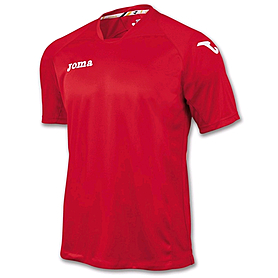 Футболка футбольная Joma Fit one красная