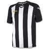 Футболка футбольная Joma Pisa 12 бело-черная - фото 1