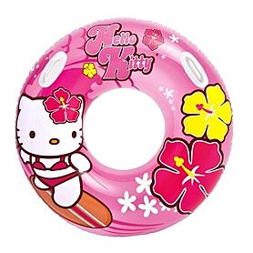 "Круг надувной ""Hello Kitty"" Intex 58269  (97 cм) с ручками"