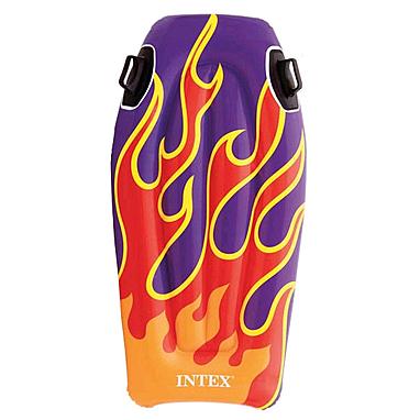 Плотик детский Intex 58165 (112х62 см) фиолетовый