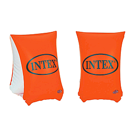 Нарукавники для плавания Intex (30х15 см) оранжевые