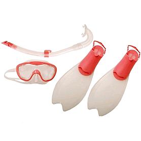 Набор для плавания детский Speedo бело-розовый, размер - 33-36