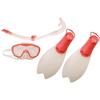 Набор для плавания детский Speedo бело-розовый, размер - 33-36 - фото 1