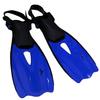 Ласты с открытой пяткой Dorfin (ZLT) синие, размер - 27-31 - фото 1