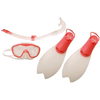 Набор для плавания детский Speedo бело-розовый, размер - 36-38 - фото 1