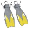 Ласты с открытой пяткой Dorfin (ZLT) желтые, размер - 27-31 - фото 1