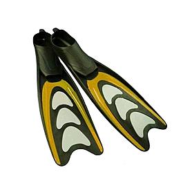 Фото 1 к товару Ласты с закрытой пяткой Dorfin (ZLT) желтые, размер - 44-45