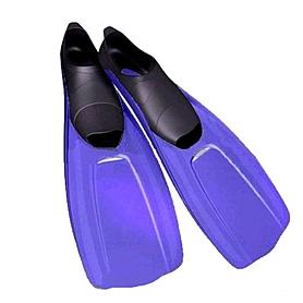 Ласты с закрытой пяткой Dorfin (ZLT) синие, размер - 44-45