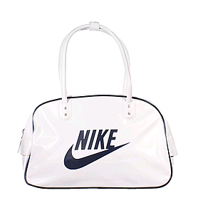 Сумка Nike Heritage Si Shoulder Club белая с черным