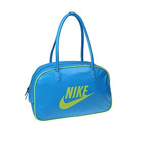 Сумка Nike Heritage Si Shoulder Club голубая с желтым