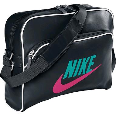 Сумка Nike Heritage Si Track Bag черная