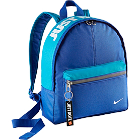 Фото 1 к товару Рюкзак городской Nike Young Athletes Classic Base Backpack синий с голубым