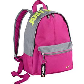 Фото 1 к товару Рюкзак городской Nike Young Athletes Classic Base Backpack розовый с серым