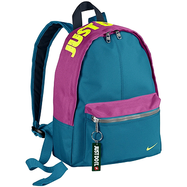 Рюкзак городской Nike Young Athletes Classic Base Backpack голубой с розовым