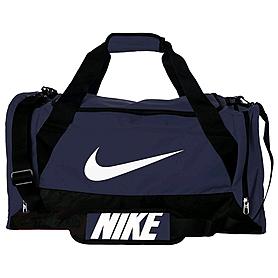 Фото 1 к товару Сумка спортивная Nike Brasilia 6 Duffel Medium темно-синяя