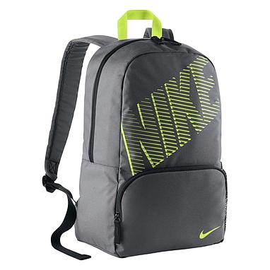 Рюкзак городской мужской Nike Classic Turf BP серый с салатовым