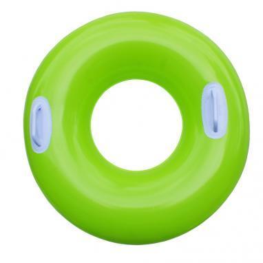Круг надувной с ручками Intex 59258 (76 см) зеленый