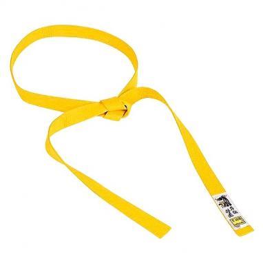 Пояс для кимоно Matsuru Judo Belts желтый