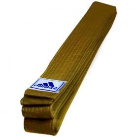 Фото 1 к товару Пояс для кимоно Adidas Club коричневый - 280 см