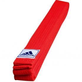 Пояс для кимоно Adidas Club красный - 280 см