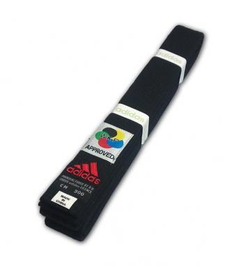 Пояс для кимоно Adidas WKF Approved черный
