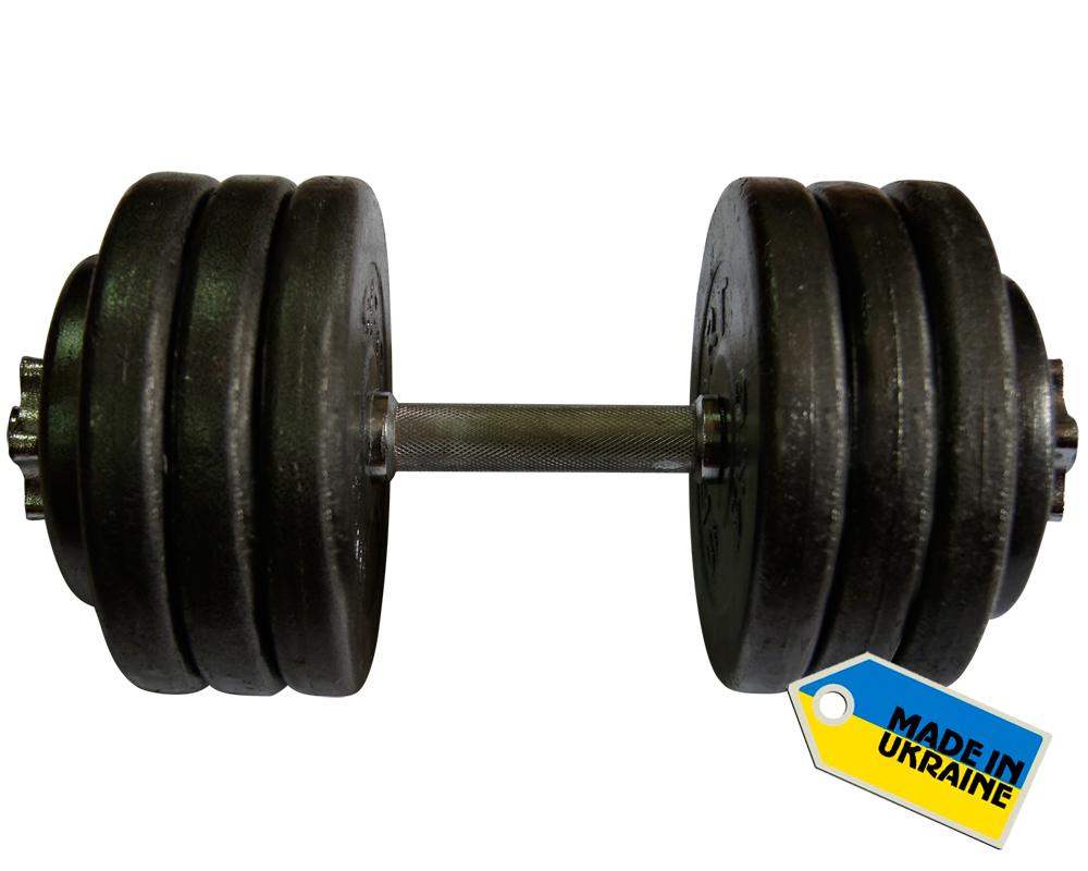 Фото 3 к товару Гантель наборная стальная Newt Home 36 кг