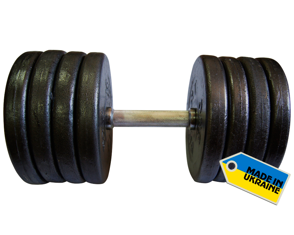Фото 3 к товару Гантель наборная стальная Newt Home 42 кг