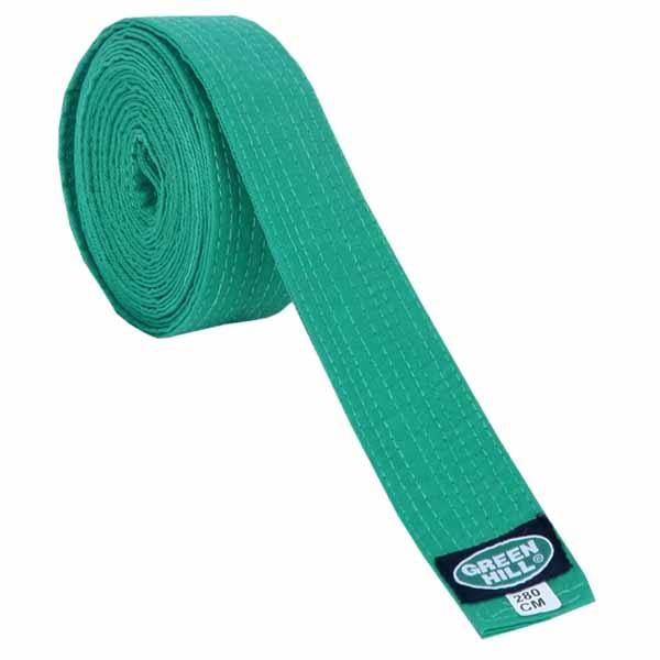 Пояс для кимоно Green Hill Olympic зеленый
