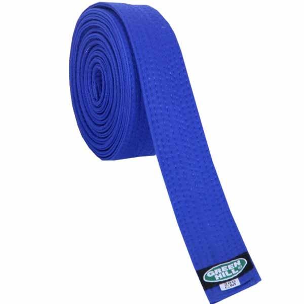 Пояс для кимоно Green Hill Olympic синий
