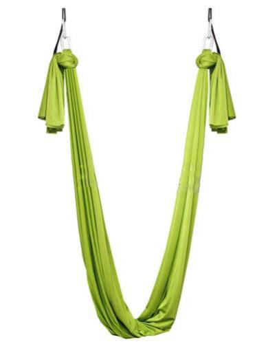 Фото 1 к товару Гамак для йоги ZLT Yoga swing FI-4440 салатовый