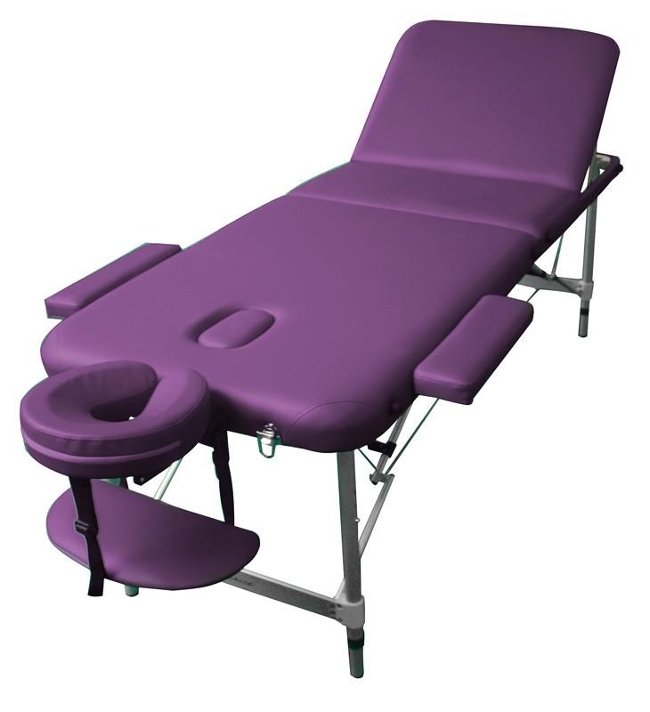 Стол массажный LEO Art of Choice фиолетовый