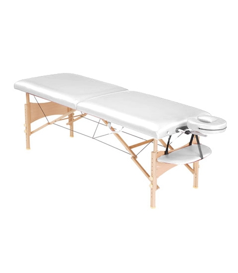 Стол массажный Life Gear белый