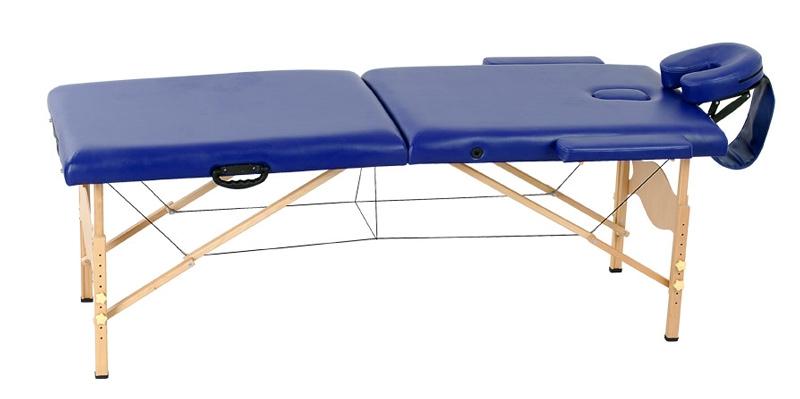 Стол массажный Life Gear WT 003В синий