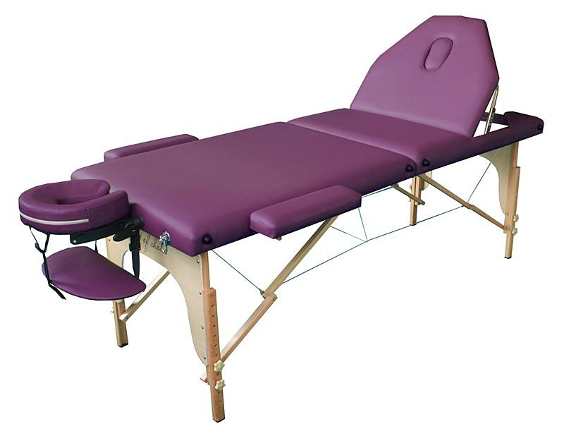 Стол массажный ROS Art of Choice фиолетовый