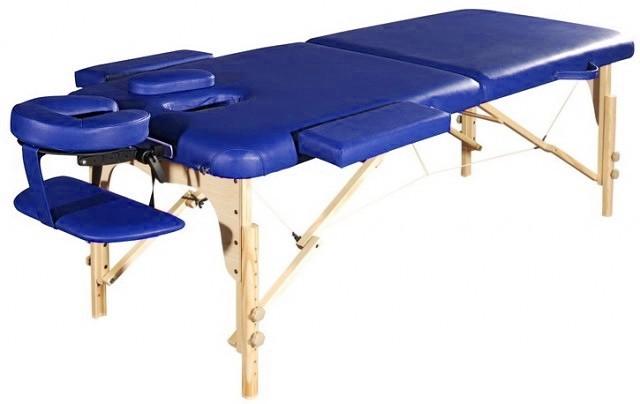 Стол массажный СК-13 синий - фото 1