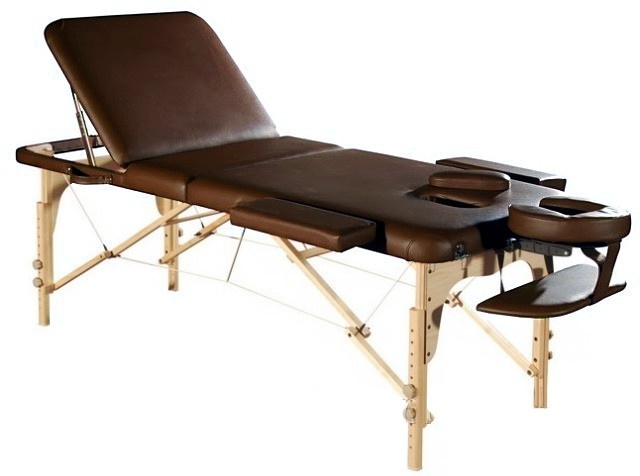 Фото 1 к товару Стол массажный СК-14 коричневый