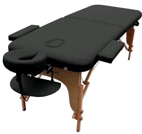 Стол массажный портативный MIA Art of Choice черный - фото 1