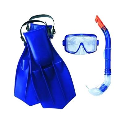 Фото 1 к товару Набор для плавания Bestway 25010 синий