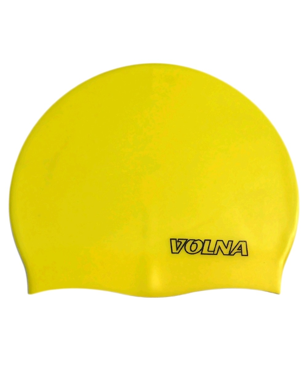 Шапочка для плавания Volna Classic желтая - фото 1