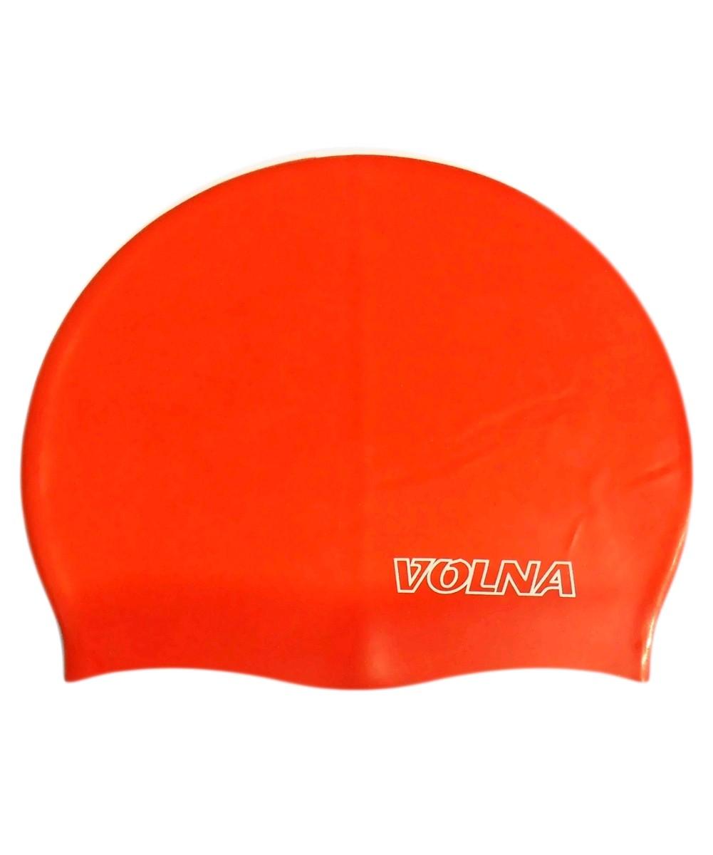 Шапочка для плавания Volna Classic красная - фото 1