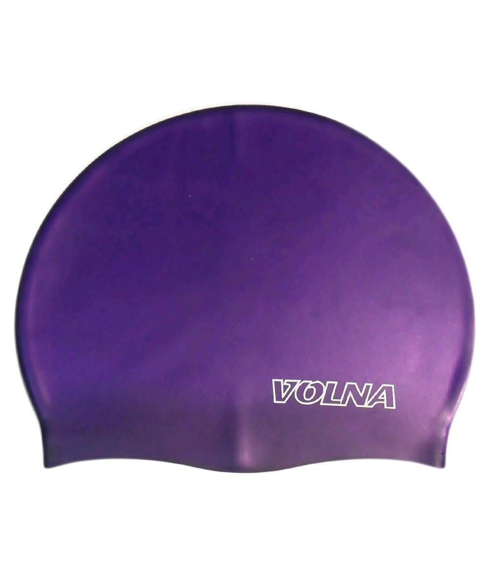 Шапочка для плавания Volna Classic фиолетовая - фото 1