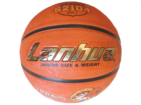 Мяч баскетбольный резиновый Lanhua №5